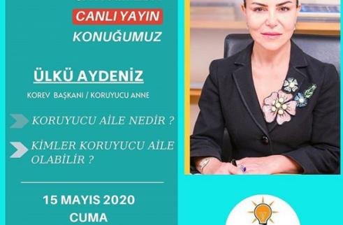 """""""Pandemi Günlerinde Online Söyleşi"""" - Ak Kadın İzmir"""