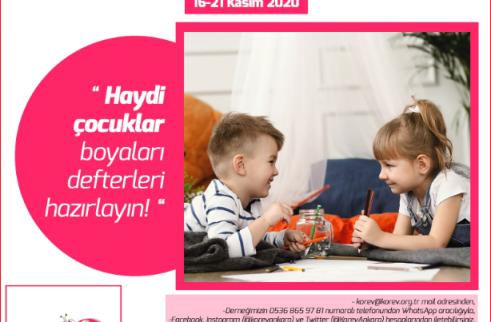 """""""BENİM GÖZÜMDEN HAKLARIM"""" SANAL SERGİ"""